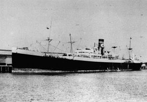 Blue Star Line - Trojan Star, built in France in 1916 and bought by a Blue Star-controlled company in 1924