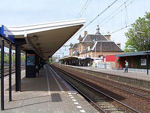 Delft railway station - Image: Station Delft 9898