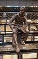 Statue of Adi Dassler, sculptor Josef Tabachnyk, New York City, Flagship Store Adidas, 2016.jpg