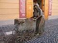 Statue of Aunt Kati, Székesfehérvár, Баба Катя - panoramio.jpg