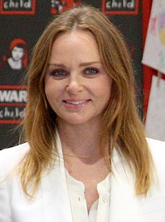 Stella McCartney British fashion designer