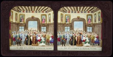Stereokort, Le Pré aux Clercs 2, La Reine de Navarre - SMV - S86b.tif