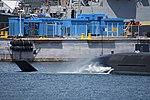 Stern of JS Seiryū(SS-509) right front view at U.S. Fleet Activities Yokosuka April 30, 2018.jpg