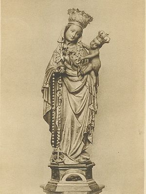 Our Lady, Star of the Sea -  The miraculous statue of Our Lady, Star of the Sea in Basilica of Our Lady (Maastricht), the most important Marian shrine of the Netherlands.