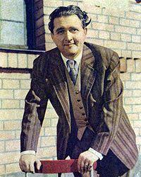 Stig Järrel ca 1940–1950-tal.