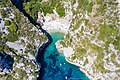 Stiniva Cove on Vis island in Croatia, a view from above (48608663521).jpg