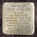 Stolperstein Bayerische Str 20 (Wilmd) Hilde Ephraim.jpg