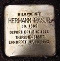 Stolperstein Darmstädter Str 2 (Wilmd) Hermann Masur.jpg