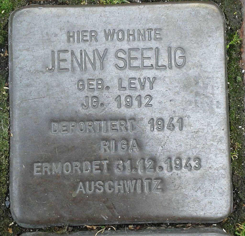 Stolperstein Drensteinfurt Hammer Straße Jenny Seelig