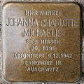 Stolperstein Johanna Charlotte Michaelis Reinickendorfer Straße 28 0103.JPG