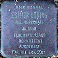 Stolperstein Köln Esther Düring (Büsdorfer Straße 2).jpg