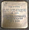 Stolperstein Köln Neusser Straße 55 Hugo Rothenberg.jpg