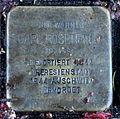 Stolperstein Karlsruhe Carl Rosenfeld Reinhold-Frank-Str 66 (fcm).jpg