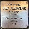 Stolperstein Olga Alexander.jpg