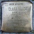 Stolperstein Stierstr 3 (Friedn) Clara Wanda Rothe.jpg