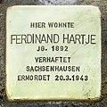 Stolperstein Verden - Ferdinand Hartje (1892).jpg