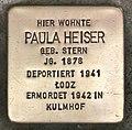 Stolperstein für Paula Heiser (Köln).jpg