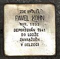 Stolperstein für Pavel Kohn.JPG