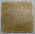 Stolpersteine Salzburg, Jozef Kosciolek (Franziskanergasse 5) (2018).jpg