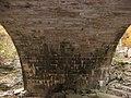 Stone Arch Bridge over McCormick's Creek, northern underside.jpg