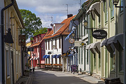 Stora gatan, the old main street
