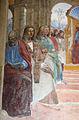 Storie di s. benedetto, 02 sodoma - Come Benedetto abbandona la scuola di roma 03.JPG