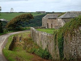 Stowe, Kilkhampton - A closer view of the farm