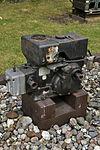 Stralsund, Nautineum, Einzylinder-Dieselmotor VEB MW Cunenwalde (2013-07-30), by Klugschnacker in Wikipedia.JPG