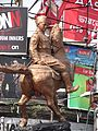 Subhas Chandra Bose Statue - Shyambazar Five-point Crossing - Kolkata 2012-05-19 3098.JPG