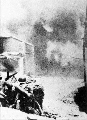 Battle of Suixian–Zaoyang - Street fighting in the cities.
