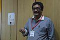 Sujay Chandra - Workshop - Contribution in Bengali Wikisource - Bengali Wikipedia 10th Anniversary Celebration - Jadavpur University - Kolkata 2015-01-09 2898.JPG