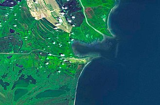 Sulina - Image: Sulina from space