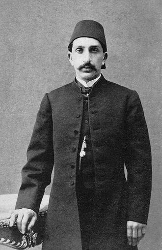 Abdul Hamid II - Şehzade (Prince) Abdul Hamid in 1868.