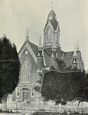 Summit Stake Tabernacle - Photo published in 1914.