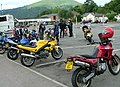 Sunday morning bike meet - geograph.org.uk - 1501839.jpg