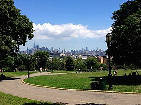 Sunset Park, the park after which the neighborhood is named