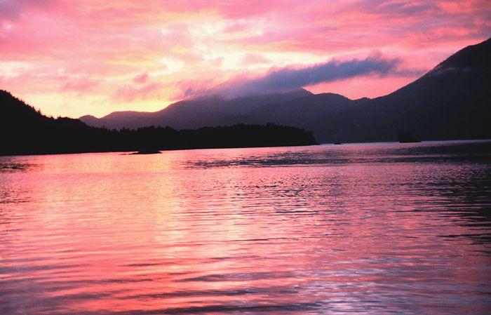 Sunset in the Inside Passage in British Columbia2 - NOAA.jpg