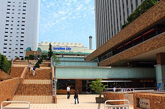 Sunshine City, Tokyo - Sunshine City entrance