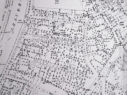 Old street map