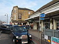 Sutton, Surrey, London - taxi at station.JPG
