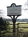 Sutton Coldfield Town Sign, Watford Gap A5127 - geograph.org.uk - 823552.jpg