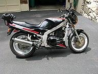 gs500e with factory chin spoiler  suzuki gs500e