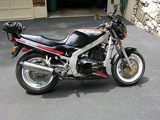 Suzuki GS500 - GS500E with factory chin spoiler