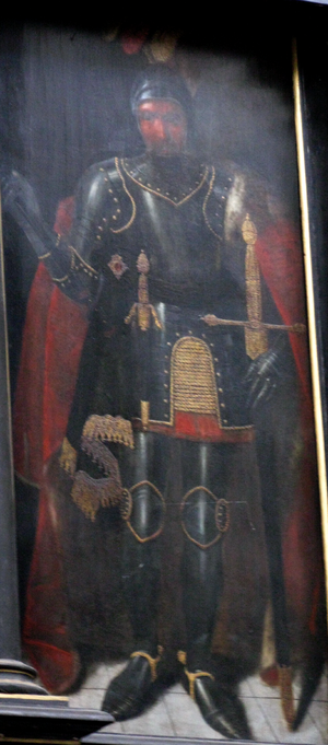 Swietopelk II, Duke of Pomerania - 17th-century painting by Herman Han, Oliwa Abbey