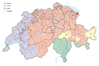 Languages of Switzerland languages of a geographic region