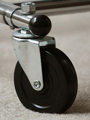 Pintle - Image: Swivel caster