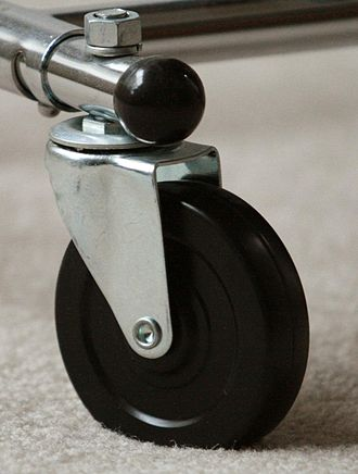 Pintle - Image: Swivel caster