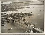 Sydney Harbour Bridge looking east, 19 March 1932 (6173527601).jpg
