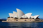 Sydney Opera House, designed by Utzon. photo E.Lau.