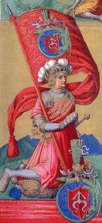 Chancellor (Poland) - Image: Szydlowiecki przywilej opat